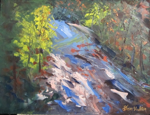 KENNEBUNK RIVER RAPIDS 12 X 16