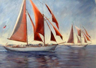 TRAINING SHIPS 22 X 28
