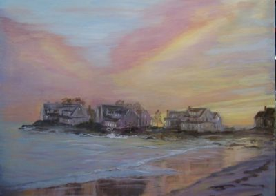 LORD'S PT SUNSET 24 X 30