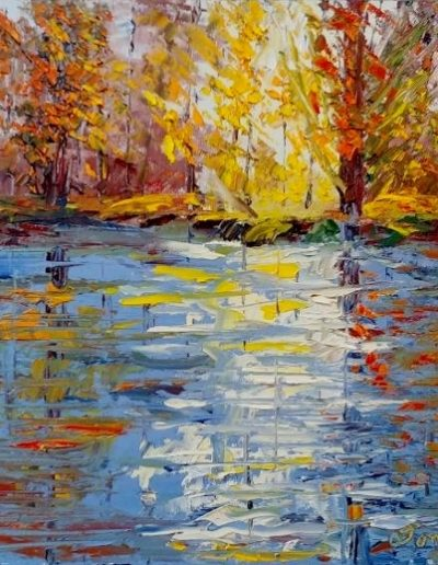 FALL REFLECTIONS 11 X 14
