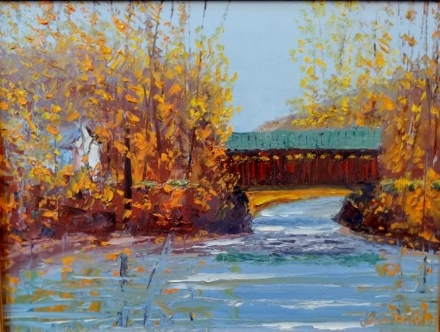 WATERVILLE BRIDGE 12 X 16
