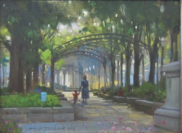 A WALK IN THE PARK 12 X 16