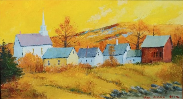 EAST BOOTHBAY AUTUMN 9 X 16
