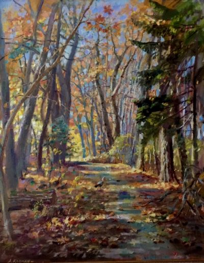 FALL IN NEEDHAM 36 x 30