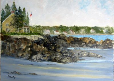 VIEW FROM WRINKLE BEACH 18 X 24