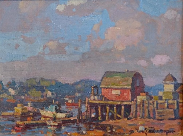 GLEN'S LOBSTER PIER 12 X 16