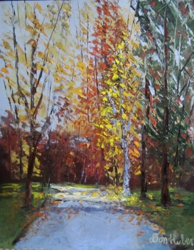FALL AT LUDHOLM FARM 14 X 11