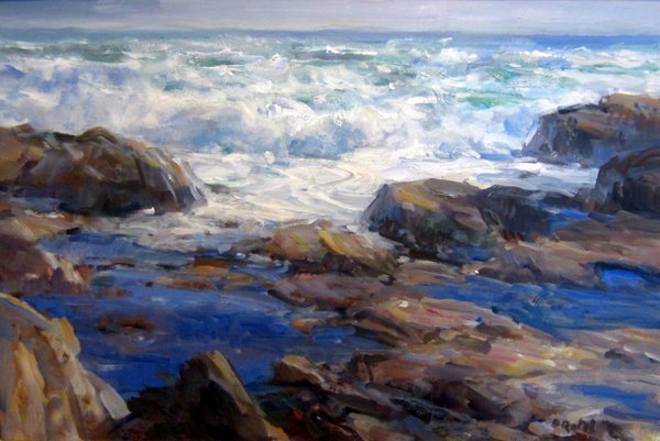 INCOMING TIDE 24 X 36