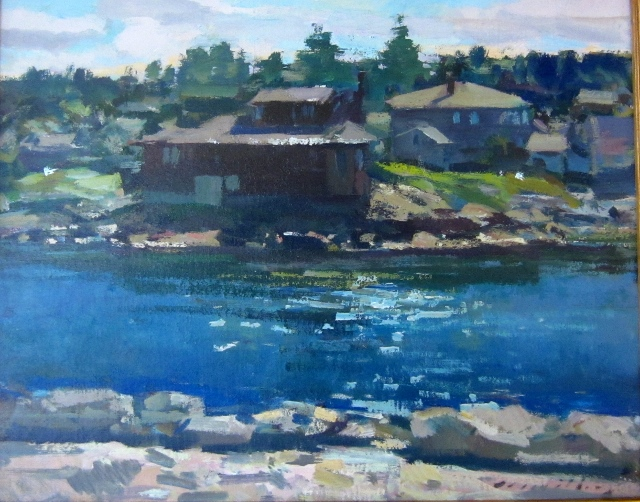 MONHEGAN HOUSE 24 X 30