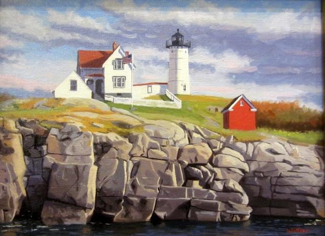 Nubble-Light Maine