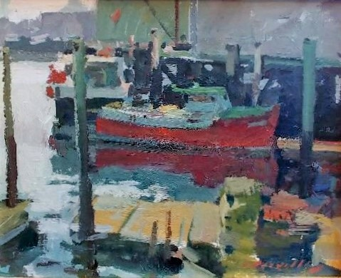RED BOAT 16 X 20