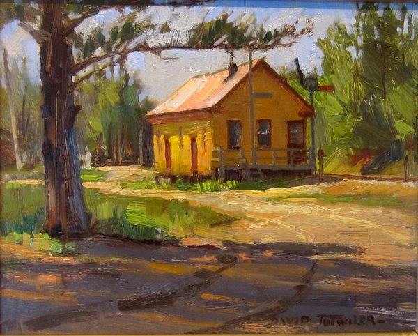 YELLOW FREIGHT HOUSE 8 X 10