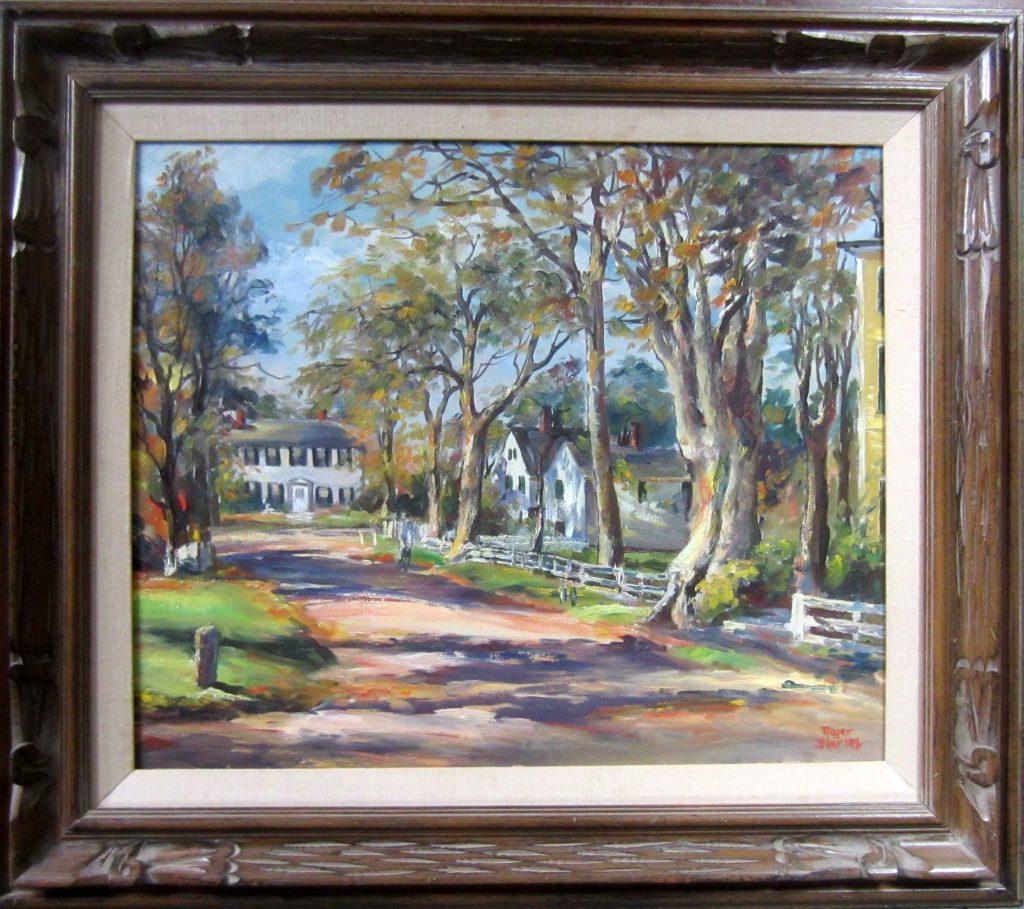 Pleasant Street Kennebunkport 28 x 32 $3,200