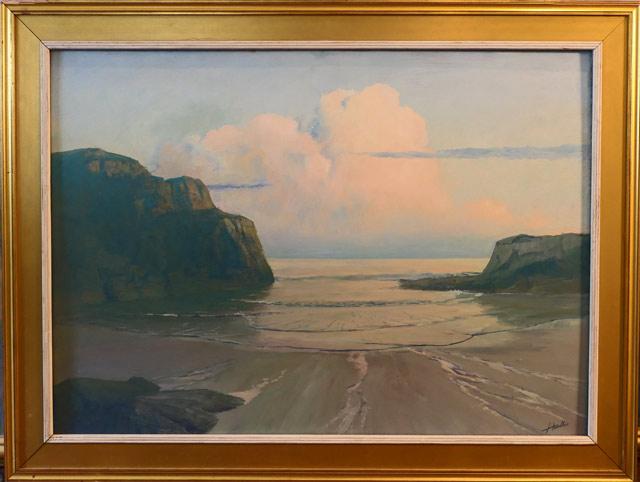 An Illuminated Sea 26 x 36 $3,500.